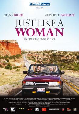 """Постер к фильму """"Совсем как женщина"""" /Just Like a Woman/ (2012)"""