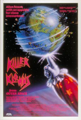 "Постер к фильму ""Клоуны-убийцы из космоса"" /Killer Klowns from Outer Space/ (1988)"