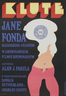 "Постер к фильму ""Клют"" /Klute/ (1971)"