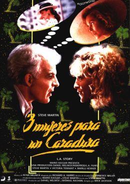 """Постер к фильму """"Лос-Анджелесская история"""" /L.A. Story/ (1991)"""