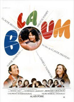 """Постер к фильму """"Бум"""" /La boum/ (1980)"""