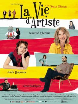 """Постер к фильму """"Творческая жизнь"""" /La vie d'artiste/ (2007)"""