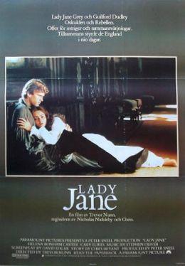 "Постер к фильму ""Леди Джейн"" /Lady Jane/ (1986)"