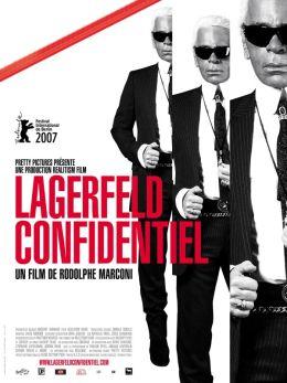 """Постер к фильму """"Секреты Лагерфельда"""" /Lagerfeld Confidential/ (2007)"""