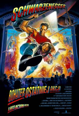 "Poster for the movie ""Last Action Hero / / Last Action Hero / (1993)"
