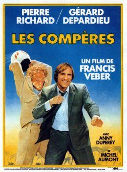 """Постер к фильму """"Папаши"""" /Les comperes/ (1983)"""