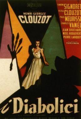 """Постер к фильму """"Дьяволицы"""" /Les diaboliques/ (1955)"""