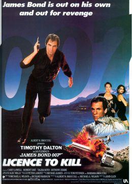 """Постер к фильму """"Лицензия на убийство"""" /Licence to Kill/ (1989)"""