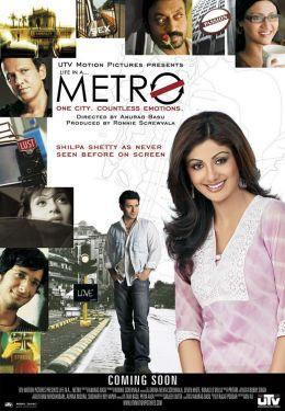 """Постер к фильму """"Жизнь в большом городе"""" /Life in a Metro/ (2007)"""