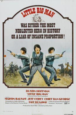 """Постер к фильму """"Маленький большой человек"""" /Little Big Man/ (1970)"""
