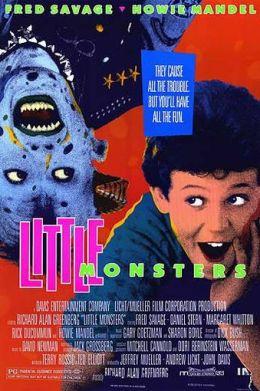 """Постер к фильму """"Маленькие монстры"""" /Little Monsters/ (1989)"""