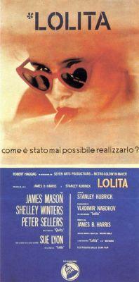 """Постер к фильму """"Лолита"""" /Lolita/ (1962)"""