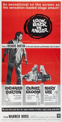 """Постер к фильму """"Оглянись во гневе"""" /Look Back in Anger/ (1959)"""