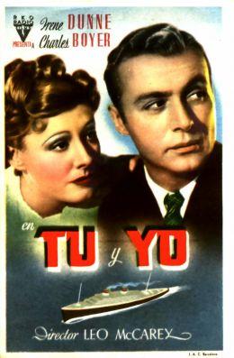 """Постер к фильму """"Любовный роман"""" /Love Affair/ (1939)"""
