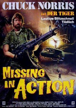 """Постер к фильму """"Без вести пропавшие"""" /Missing in Action/ (1984)"""