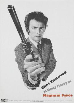 """Постер к фильму """"Высшая сила"""" /Magnum Force/ (1973)"""