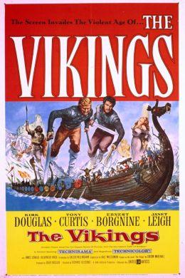 """Постер к фильму """"Викинги"""" /The Vikings/ (1958)"""