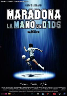 "Постер к фильму ""Марадона: Рука Бога"" /Maradona, la mano di Dio/ (2007)"