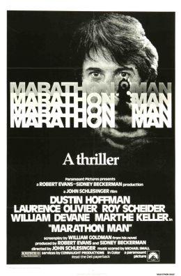 """Постер к фильму """"Марафонец"""" /Marathon Man/ (1976)"""