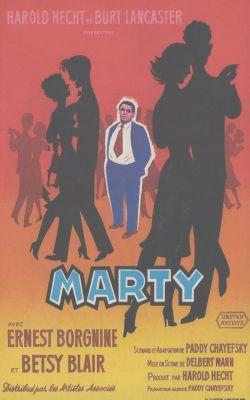 """Постер к фильму """"Марти"""" /Marty/ (1955)"""
