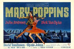 "Постер к фильму ""Мэри Поппинс"" /Mary Poppins/ (1964)"