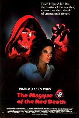 """Постер к фильму """"Маска красной смерти"""" /Masque of the Red Death/ (1989)"""