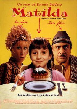 """Постер к фильму """"Матильда"""" /Matilda/ (1996)"""