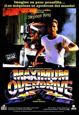 """Постер к фильму """"Максимальное ускорение"""" /Maximum Overdrive/ (1986)"""