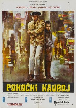 """Постер к фильму """"Полуночный ковбой"""" /Midnight Cowboy/ (1969)"""