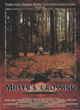 """Постер к фильму """"Перекресток Миллера"""" /Miller's Crossing/ (1990)"""