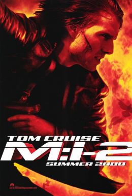 "Постер к фильму ""Миссия: невыполнима 2"" /Mission: Impossible II/ (2000)"