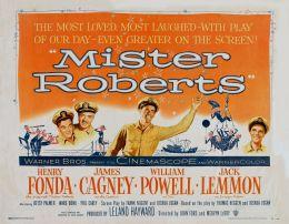 """Постер к фильму """"Мистер Робертс"""" /Mister Roberts/ (1955)"""