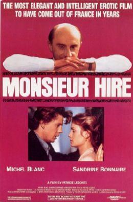 """Постер к фильму """"Мсье Ир"""" /Monsieur Hire/ (1989)"""