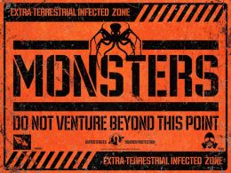"""Постер к фильму """"Монстры"""" /Monsters/ (2010)"""