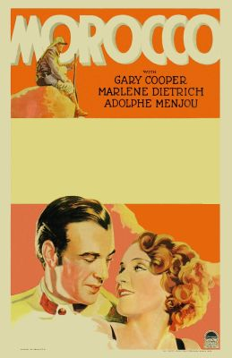"""Постер к фильму """"Марокко"""" /Morocco/ (1930)"""