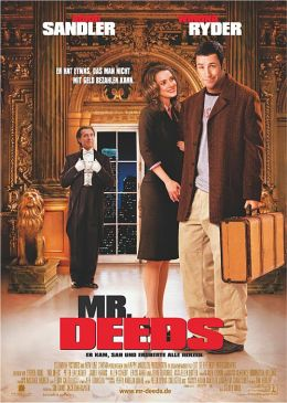 """Постер к фильму """"Миллионер поневоле"""" /Mr. Deeds/ (2002)"""