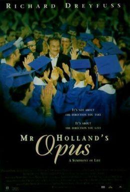 """Постер к фильму """"Опус мистера Холланда"""" /Mr. Holland's Opus/ (1995)"""