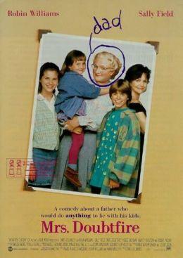 "Постер к фильму ""Миссис Даутфайр"" /Mrs. Doubtfire/ (1993)"