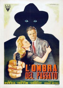 """Постер к фильму """"Это убийство, моя милочка!"""" /Murder, My Sweet/ (1944)"""