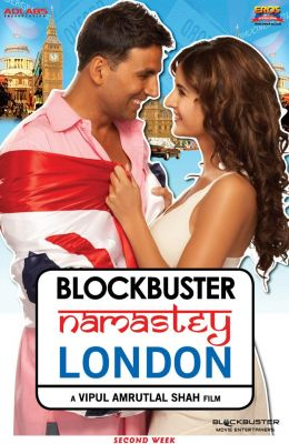 "Постер к фильму ""Намасте Лондон"" /Namastey London/ (2007)"