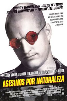 """Poster for the film """"Natural Born Killers"""" / (1994)"""