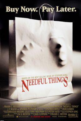 """Постер к фильму """"Нужные вещи"""" /Needful Things/ (1993)"""