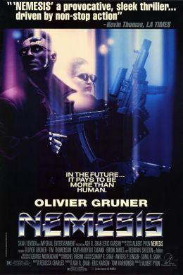 "Постер к фильму ""Немезида"" /Nemesis/ (1992)"