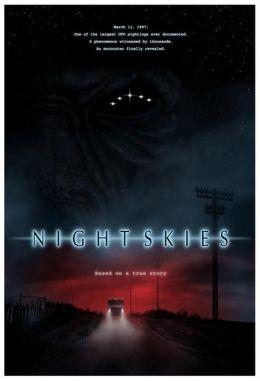 """Постер к фильму """"Ночные небеса"""" /Night Skies/ (2007)"""
