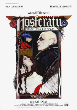 """Постер к фильму """"Носферату: Призрак ночи"""" /Nosferatu the Vampyre/ (1979)"""