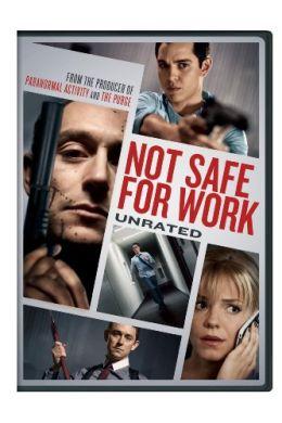 """Постер к фильму """"Небезопасно для работы"""" /Not Safe for Work/ (2014)"""