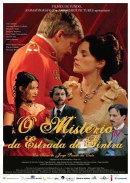 """Постер к фильму """"Загадочный случай на улице Синтра"""" /O Misterio da Estrada de Sintra/ (2007)"""