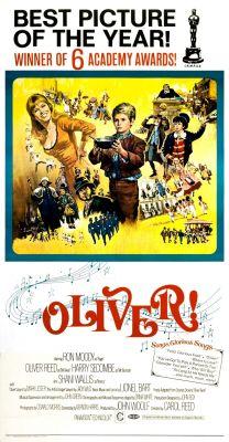"""Постер к фильму """"Оливер!"""" /Oliver!/ (1968)"""