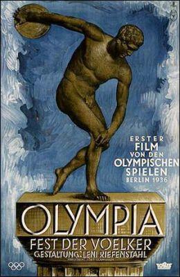 """Постер к фильму """"Олимпия. Часть первая – Праздник народов"""" /Olympia 1. Teil - Fest der Volker/ (1938)"""