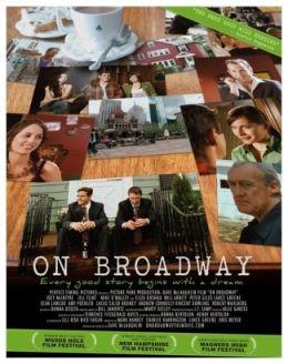 """Постер к фильму """"На Бродвее"""" /On Broadway/ (2007)"""